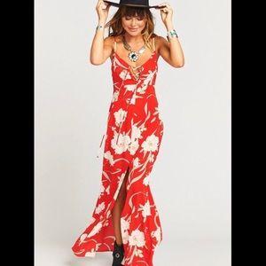 Show Me Your Mumu Leyton Maxi Dress size Small